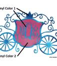 Princess Carriage Vinyl Layers