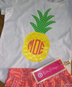 monogrammed pineapple shirt