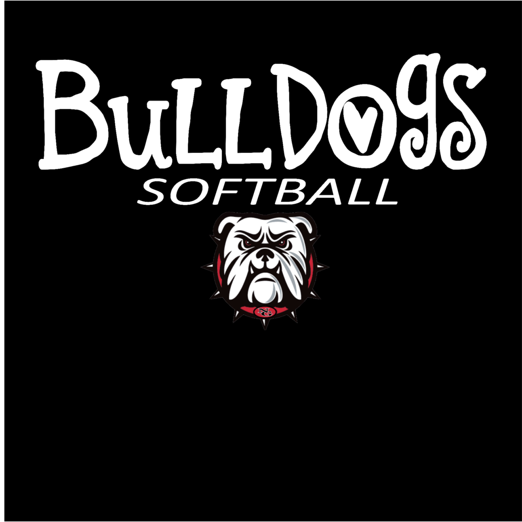 #NG01S - North Gwinnett - Bulldogs - Mascot - Softball