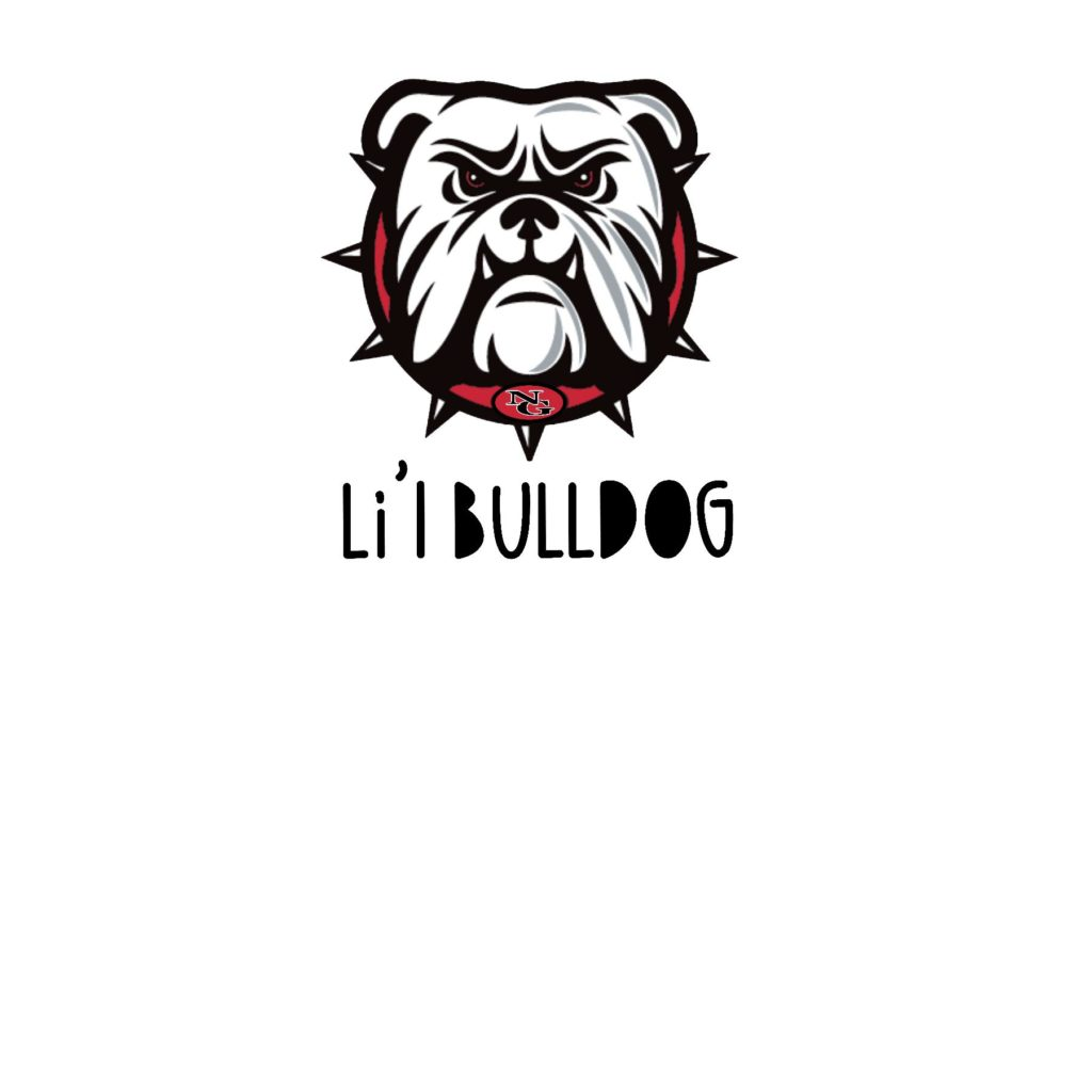 #NG07Z - North Gwinnett - Bulldogs - Face - Li'l Bulldog