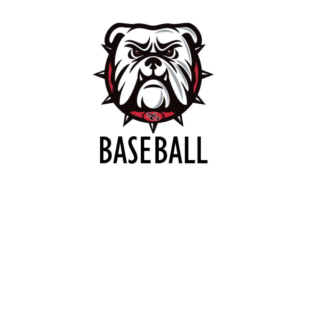 #NG07B - North Gwinnett - Bulldogs - Face - Baseball