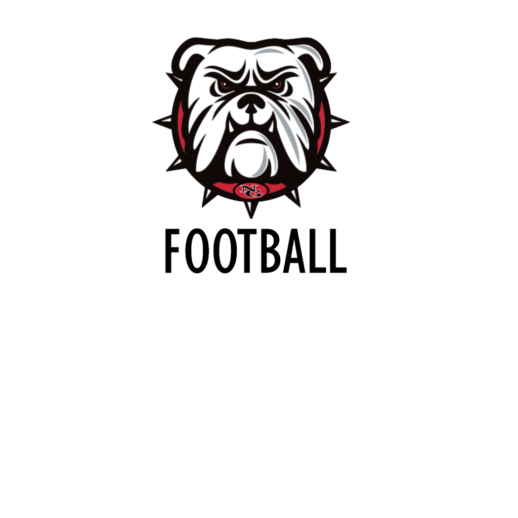 #NG07F - North Gwinnett - Bulldogs - Face - Football