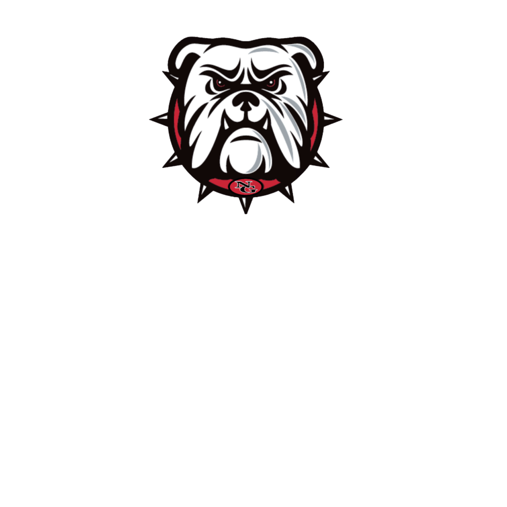 #NG07 - North Gwinnett - Bulldogs - Face - Simple