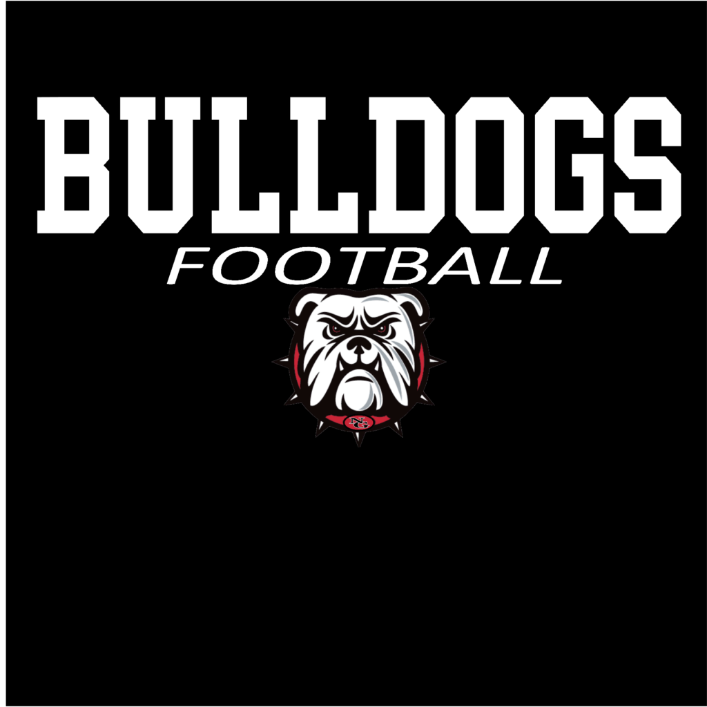 #NG01F - North Gwinnett - Bulldogs - Mascot - Football