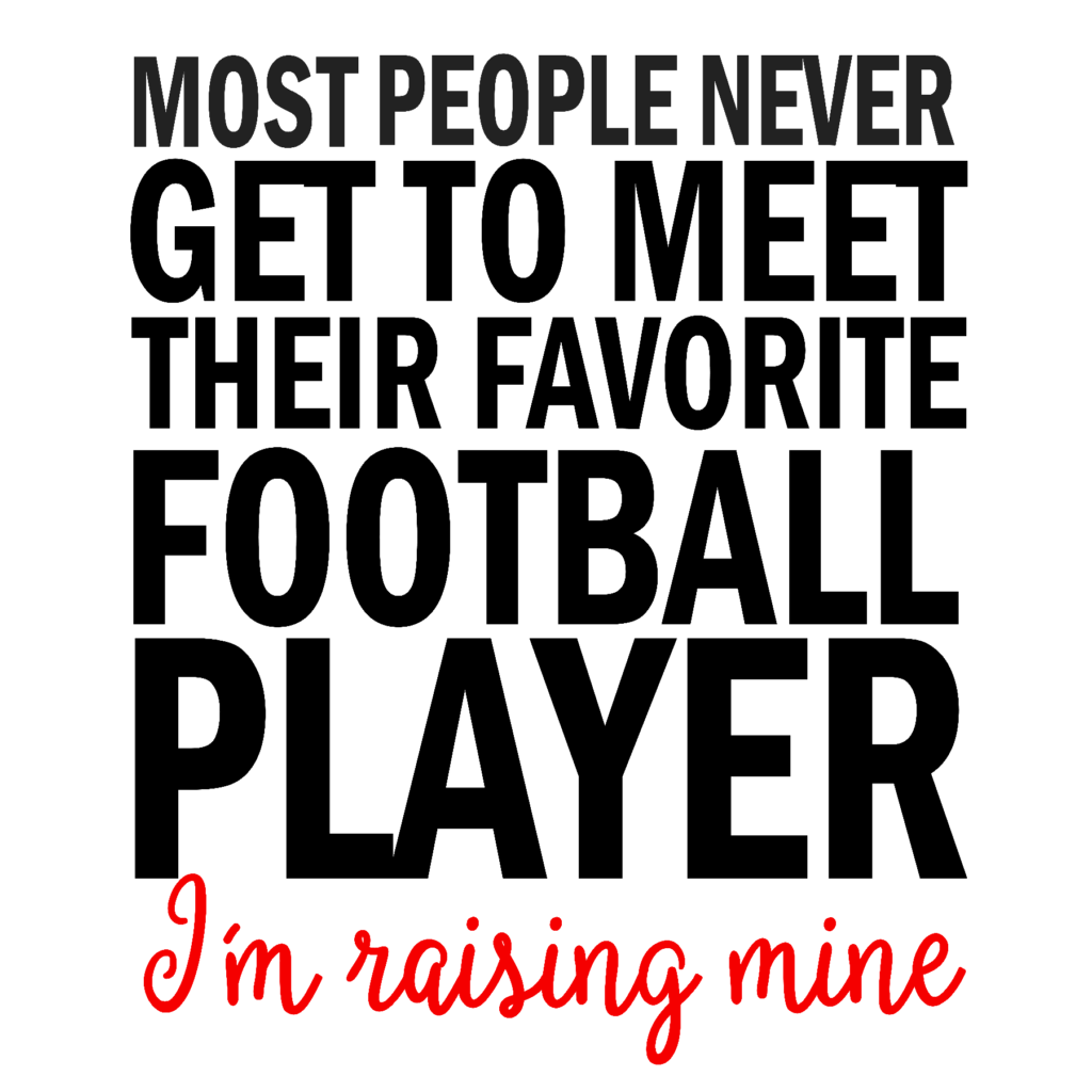 #FB20 - Football - Im Raising Mine