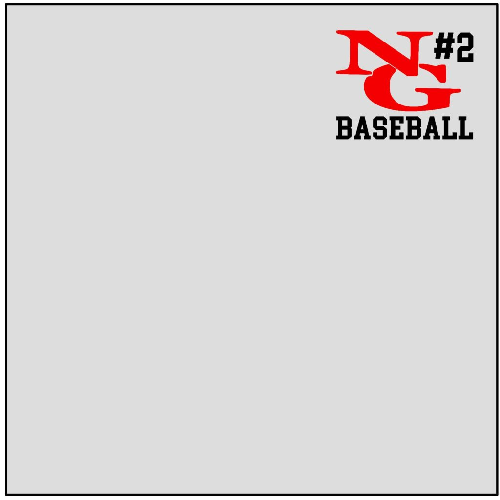 #NG00BB - North Gwinnett - Bulldogs - Personalized - Baseball - Red Black