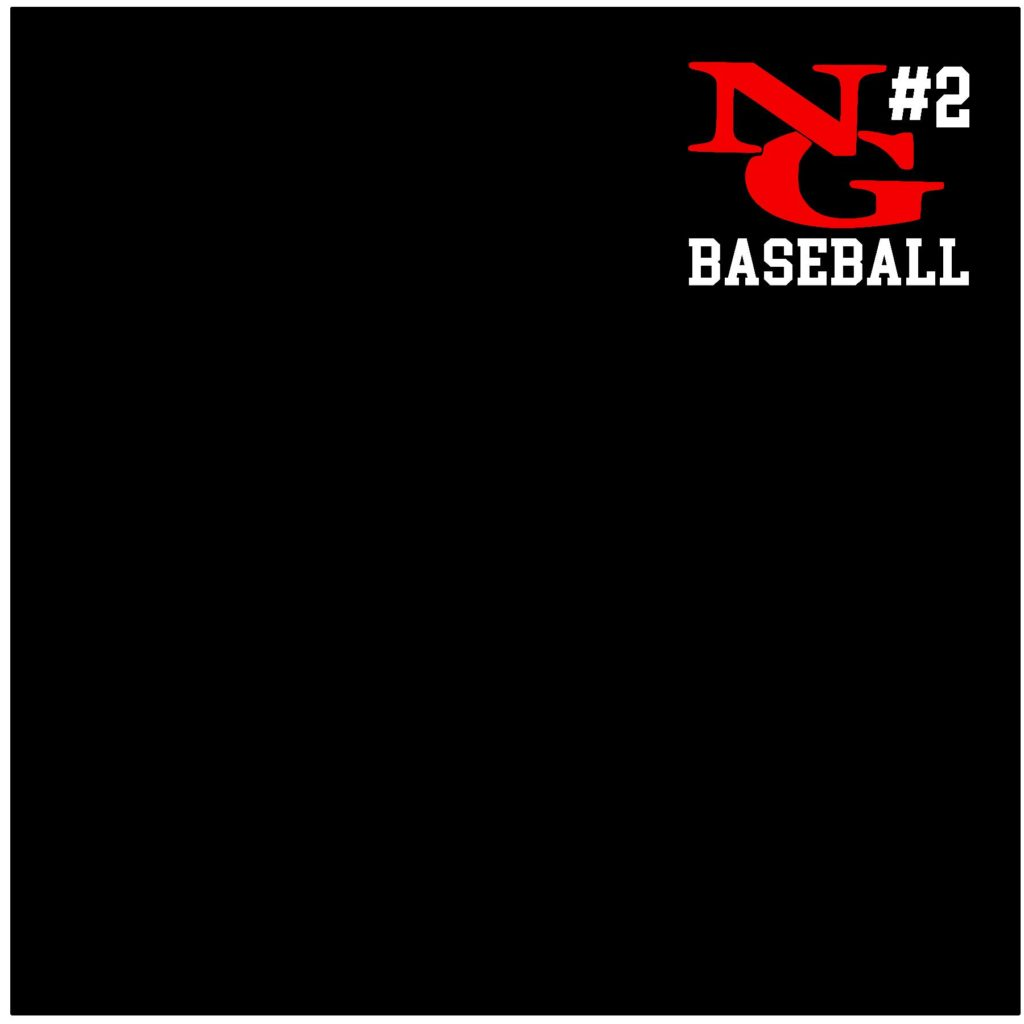 #NG00BR - North Gwinnett - Bulldogs - Personalized - Baseball - Red White