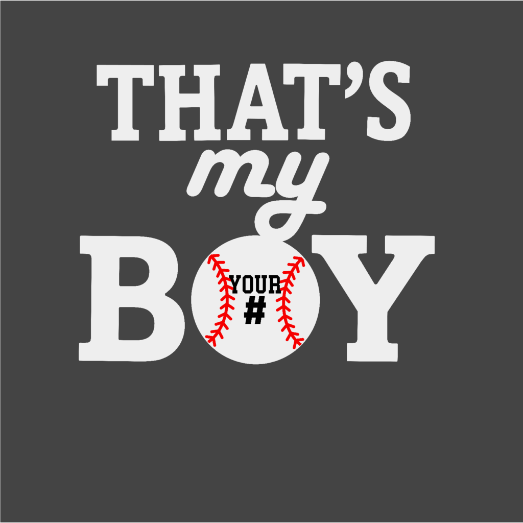#BB24W - Baseball - My Boy - White