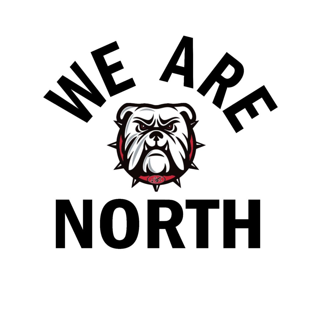 #NG06B - North Gwinnett - Bulldogs - We Are North - Black